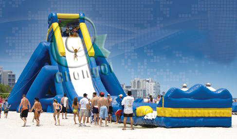 Inflatable Slide For Adults