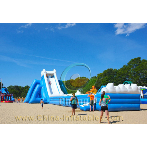 giant inflatable pool slide for adult - Inflatable Pool Slide