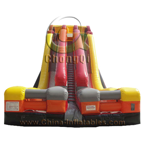 giant inflatable water slide for kids and adultsInflatable Water Slide For Adults