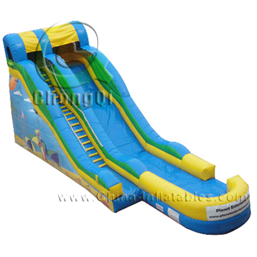 Inflatable Giant Slide: Giant Inflatable Water Slide No.:CQGS012 For Sale Factory