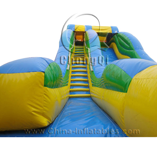 Extreme Inflatable Water Slide For Sale: Giant Inflatable Water Slide No.:CQGS012 For Sale Factory