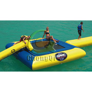 inflatable big water trampoline