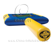 used water trampoline