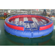 inflatable mechanical bull mattress