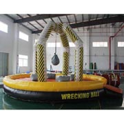 inflatable Team Building Events Human Demolition Zone