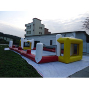 outdoor inflatable football games