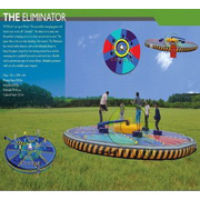 mechanical inflatable sports games