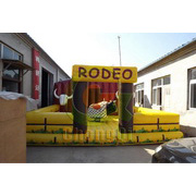inflatable bull riding machine games