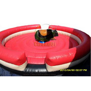 hot inflatable bull riding machine
