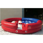 usa inflatable bull ride game