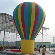 inflatable ground balloon