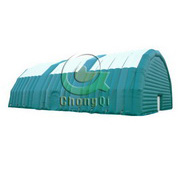 inflatable storage tent