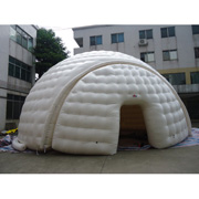 inflatable dome tent