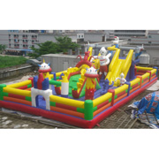 inflatable amusement park slides