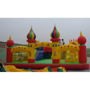 inflatable castle amusement park