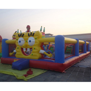 spongebob inflatable amusement park