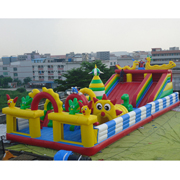 Jungle Buddies inflatable amusement park