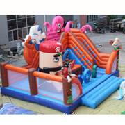 pirate inflatable amusement park