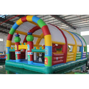 Wonder Pets inflatable amusement park