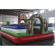 Boonie Bears inflatable amusement park