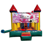 bouncer inflatable hello kitty
