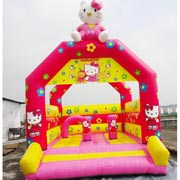 inflatable hello kitty bouncer