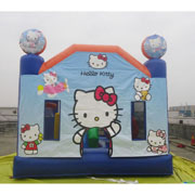 hello kitty inflatable bouncer