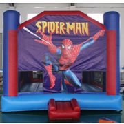 inflatable bouncer spiderman