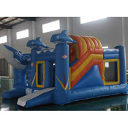 dolphin inflatable bouncer bouncy castles