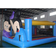 inflatable bouncer Mickey Mouse Minnie mouse