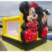 Mickey Mouse Minnie mouse inflatable bouncer