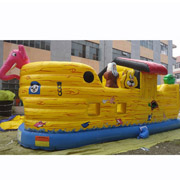 pirate inflatable bouncer