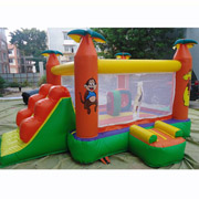 inflatable Monkey bouncer bouncy castles