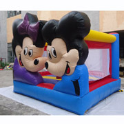 Mickey Minnie mouse inflatable jumping bouncer
