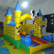 inflatable Mickey Mouse bouncer jumping castle