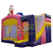 inflatable hello kitty jumping castle