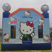 fashion Hello Kitty inflatable castles