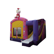 inflatable jumping castle hello kitty combo