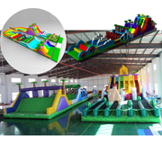 inflatable obstacle course carnival