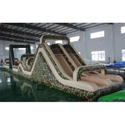 biggest inflatable assault courses