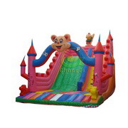 cartoon characteristic inflatable slide