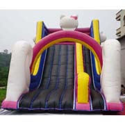 Cheap inflatable Hello Kitty slides