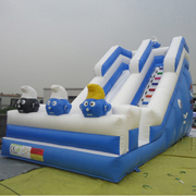 Smurfs inflatable slides