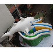 inflatable dolphin slides