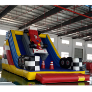 inflatable slides Car