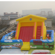 inflatable commercial slides