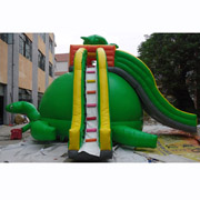 inflatable tortoise slides