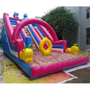 inflatable cheap slides