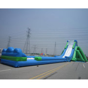 new design inflatable slides