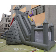 inflatable dinosaur slides